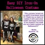 Pregnant Skeleton Couples Costume