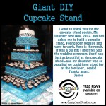 Giant Cupcake Stand