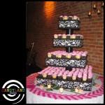 Giant DIY Damask Cupcake Stand