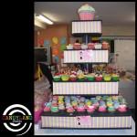 Giant DIY Cupcake Stand