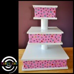 Small Baby Shower Cupcake Stand