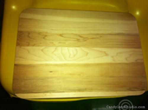 Sanded Cutting Board
