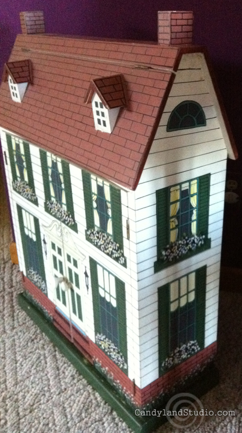 Side of Dollhouse