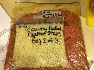 Country Baked Meatloaf Steaks