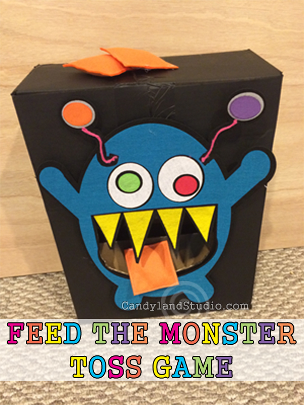 Feed the Monster Toss Game by Candyland Studio