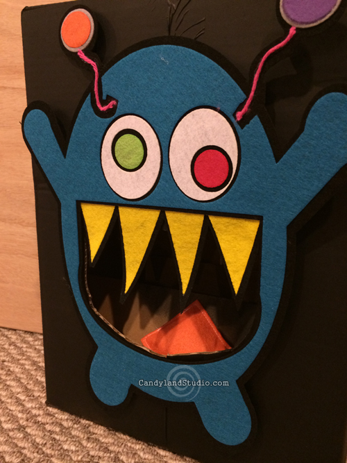 Bean Bag Monster Toss Game by Candyland Studio