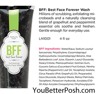 Perfectly Posh - Best Face Forever BFF by YouBetterPosh.com