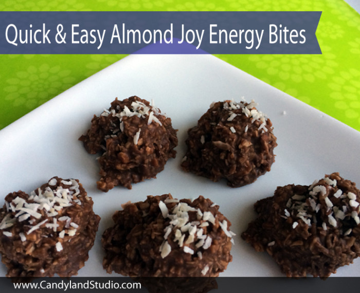 Quick & Easy Almond Joy Bites