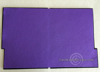 Candyland Studio Reversible Two Tone Felt File Folder