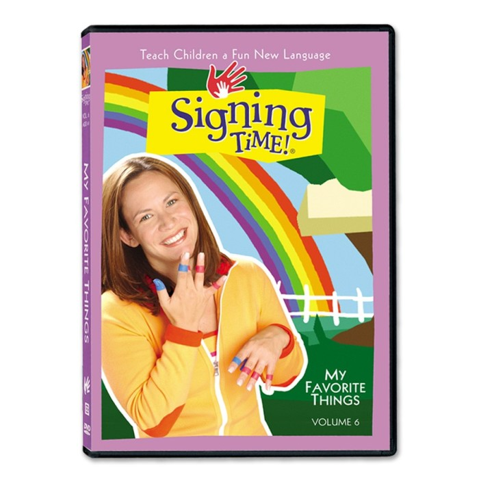 Signing Time DVD Volume 6: My Favorite Things