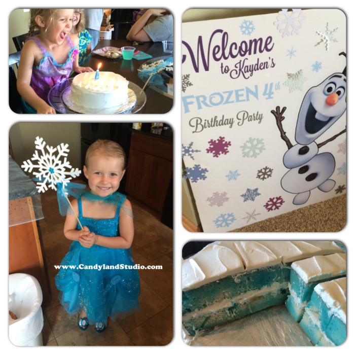 Frozen 4th Birthday Party