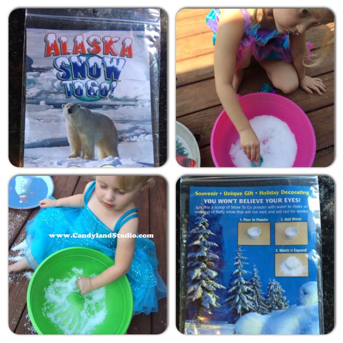 Frozen Birthday Party - Snow to Go