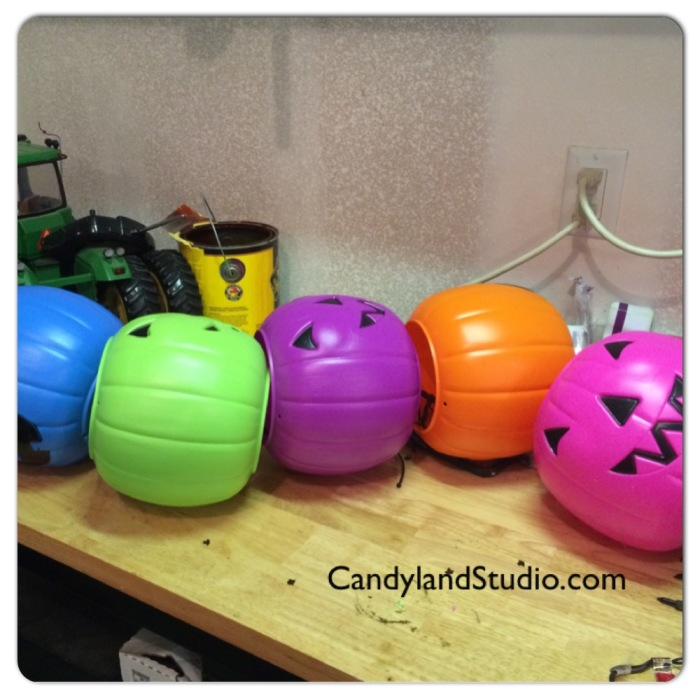 Candyland Studio - How to Make a Pumpkin Totem Prop