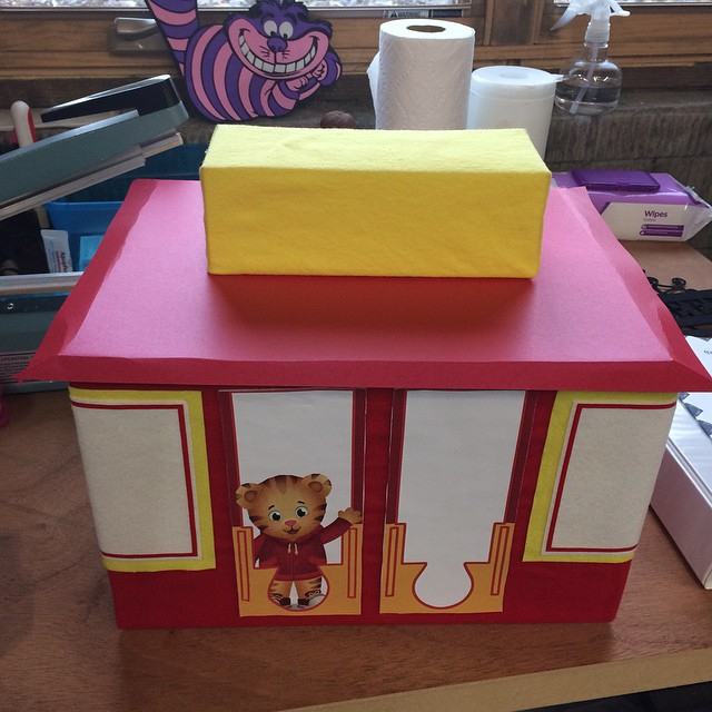 Daniel Tiger Trolley Project