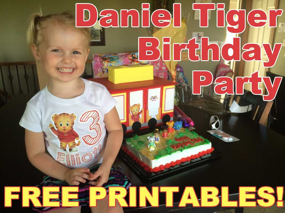 It is an image of Geeky Daniel Tiger Free Printables