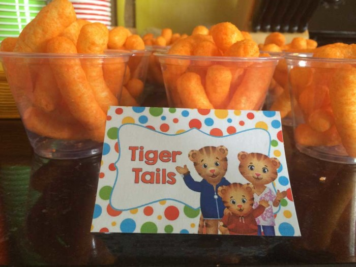 Daniel Tiger Food - Cheetos Cheese Puffs Tiger Tails