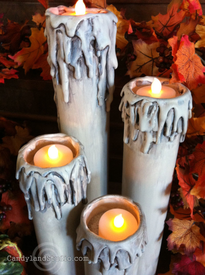 PVC Candles by Candyland Studio